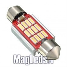 Автолампы 12SMD Led 4014 Canbus 41мм