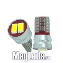Автолампы T10 5630 smd 2 led Canbus