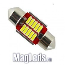 Автолампы 10SMD Led 4014 Canbus 31мм