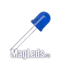 Светодиоды 12 вольт синие 8мм